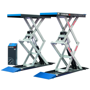 Find out more about the Cascos 3000 Evo 2 Scissor Lift online today or call our Vehicle Lift experts on 01480 8-9-10-11 now.