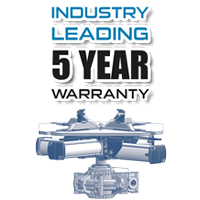 5 Year Warranty on QuadraClamp turntables from Hofmann Megaplan