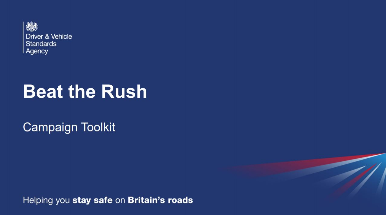DVSA Beat the Rush MOT Campaign