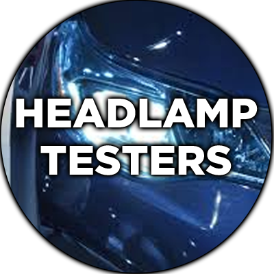 MOT Headlamp Testers at Hofmann Megaplan