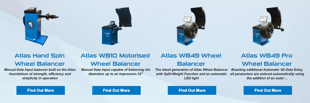 Atlas Wheel Balancer Range