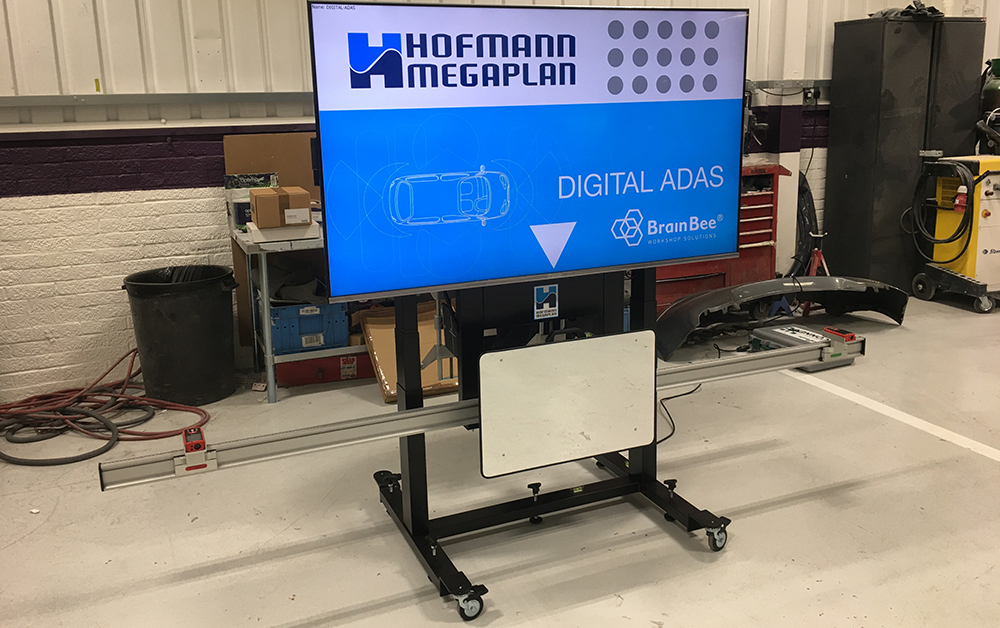 The perfect Digital ADAS solution installed at the Artis Accident Repair Centre.