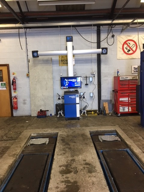 Recent install of megaline Ssence 3D at Bells Silncers Swindon