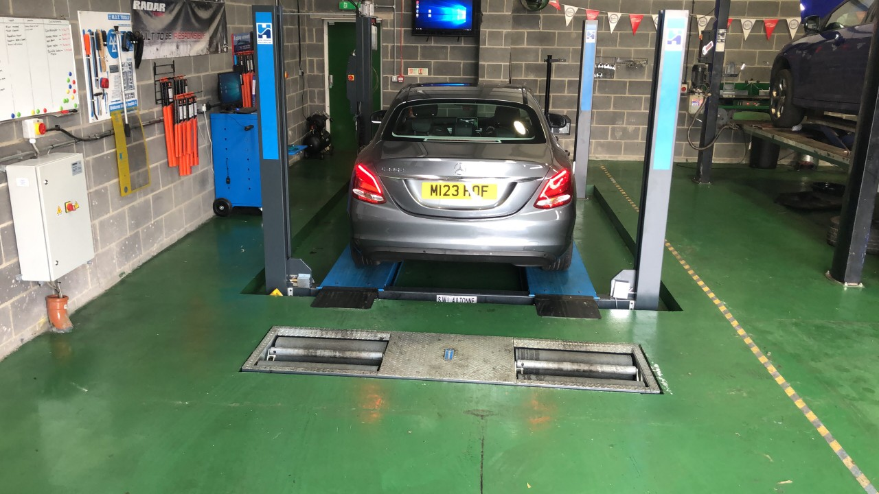 Fusion Auto's complete MoT equipment overhaul with precise installation