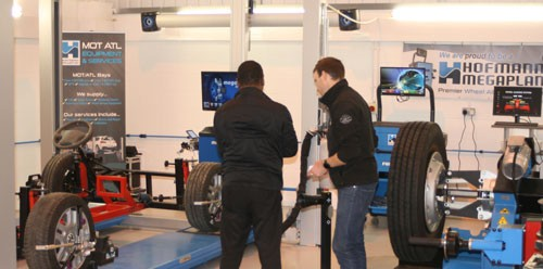Alignment System Training with Hofmann Megaplan