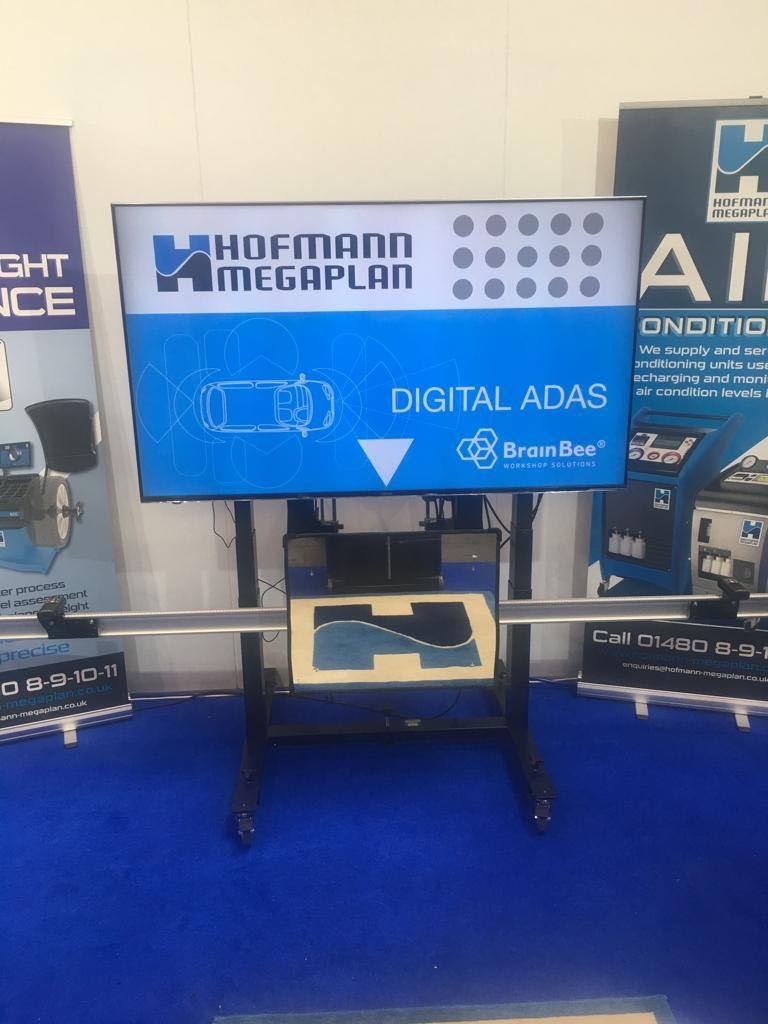 OUR ADVANCED ADAS CALIBRATION SYSTEM ON SHOW AT OUR AUTOMECHANIKA 2019 SHOWCASE STAND.