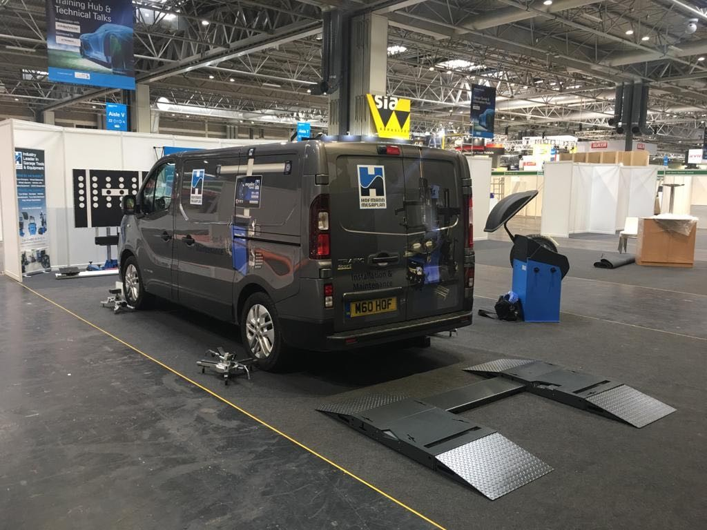 THE BRAND NEW DRIVE-OVER TREADSMART ON SHOW AT OUR AUTOMECHANIKA 2019 SHOWCASE STAND.