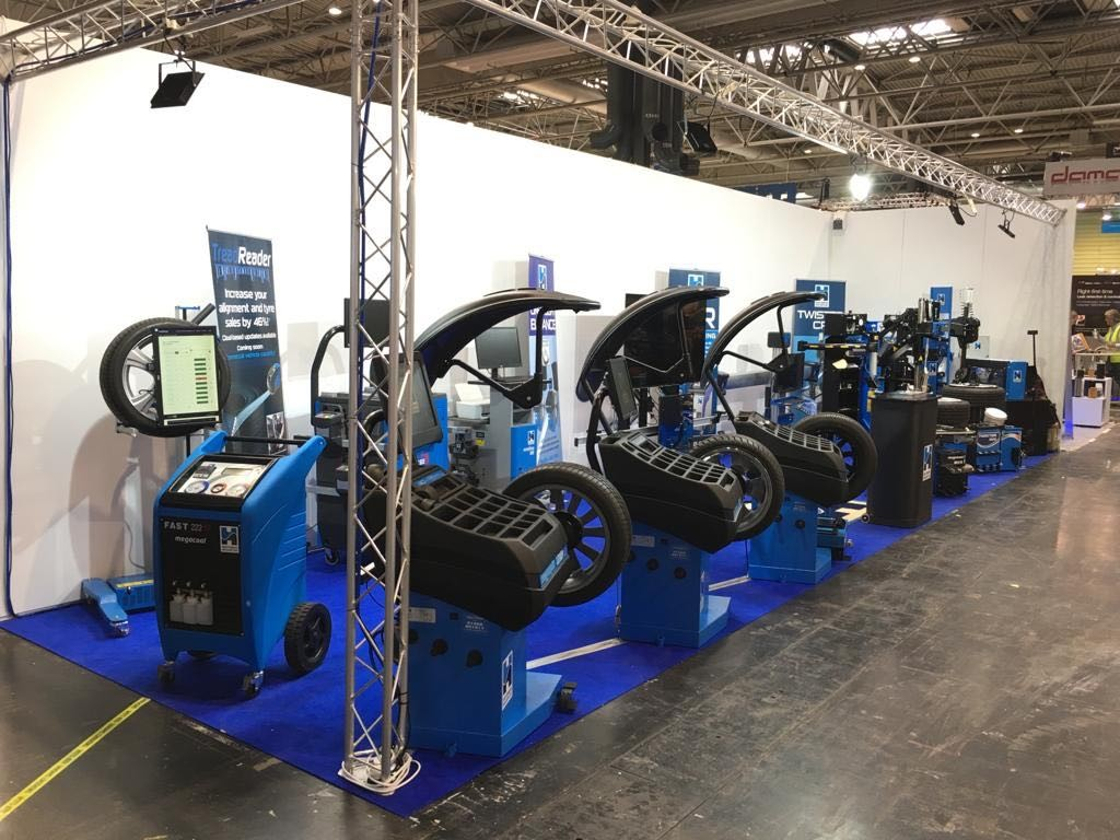 Hofmann Megaplan stand at Automechanika all set up and ready for Day 1!