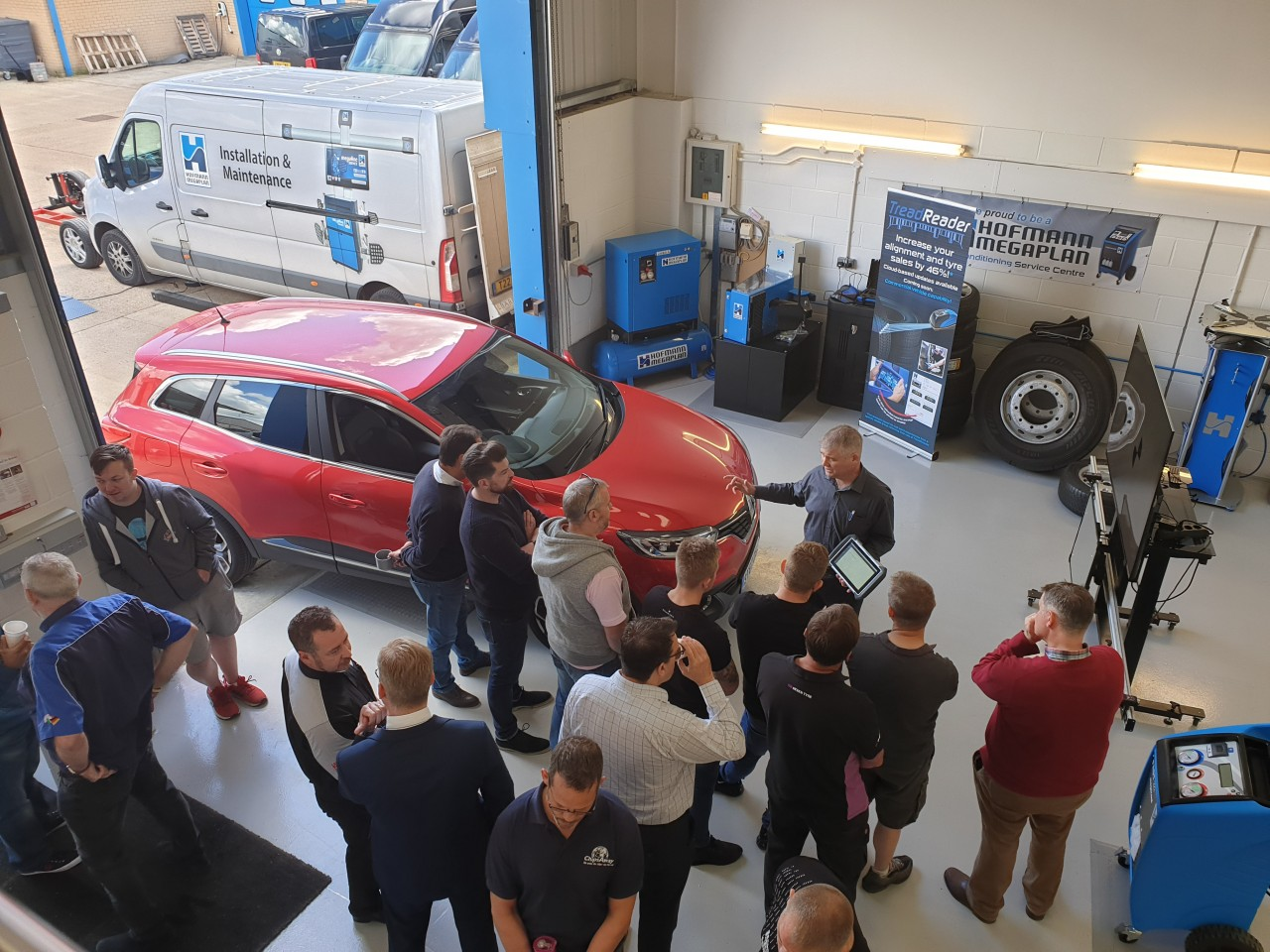 2019 ADAS Open Day at Hofmann Megaplan Showroom