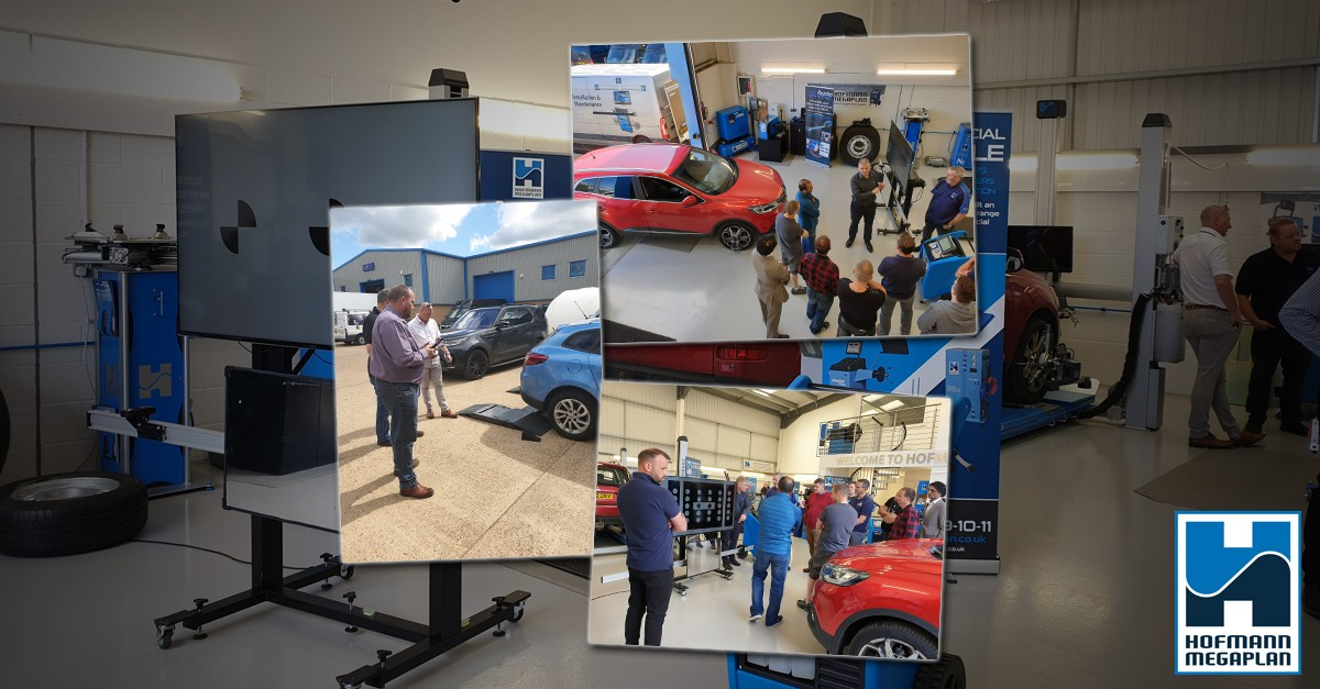 Advanced ADAS Calibration system draws record crowd to Hofmann Megaplan centre of excellence blog