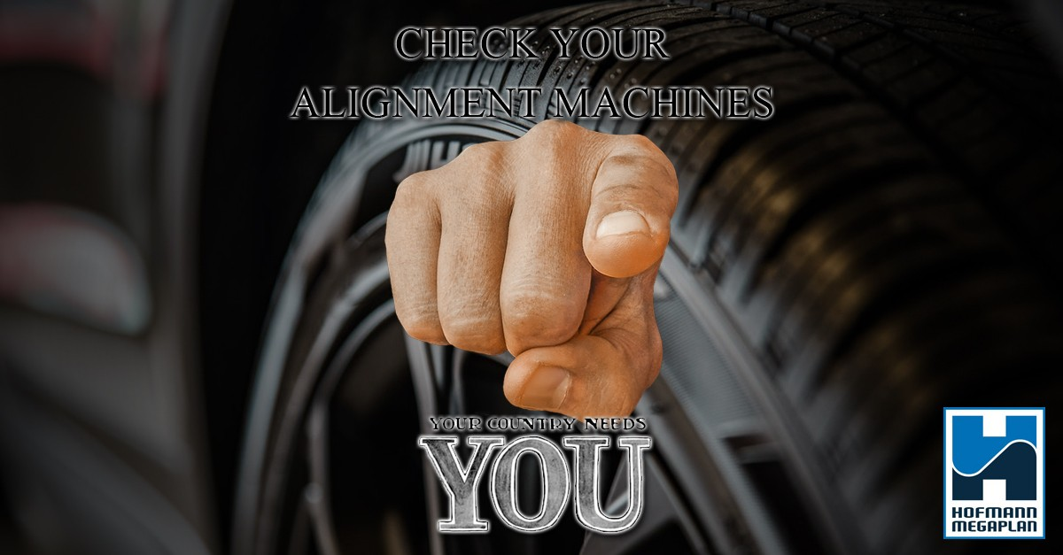 Your country needs you to check your alignment machines blog header