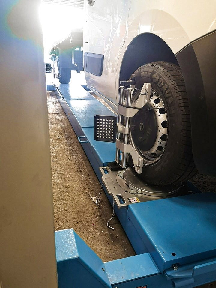 Hofmann Megaplan truck and van vehicle alignment