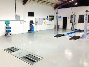Fully installed ATL MOT bay package with all the required testing equipment.