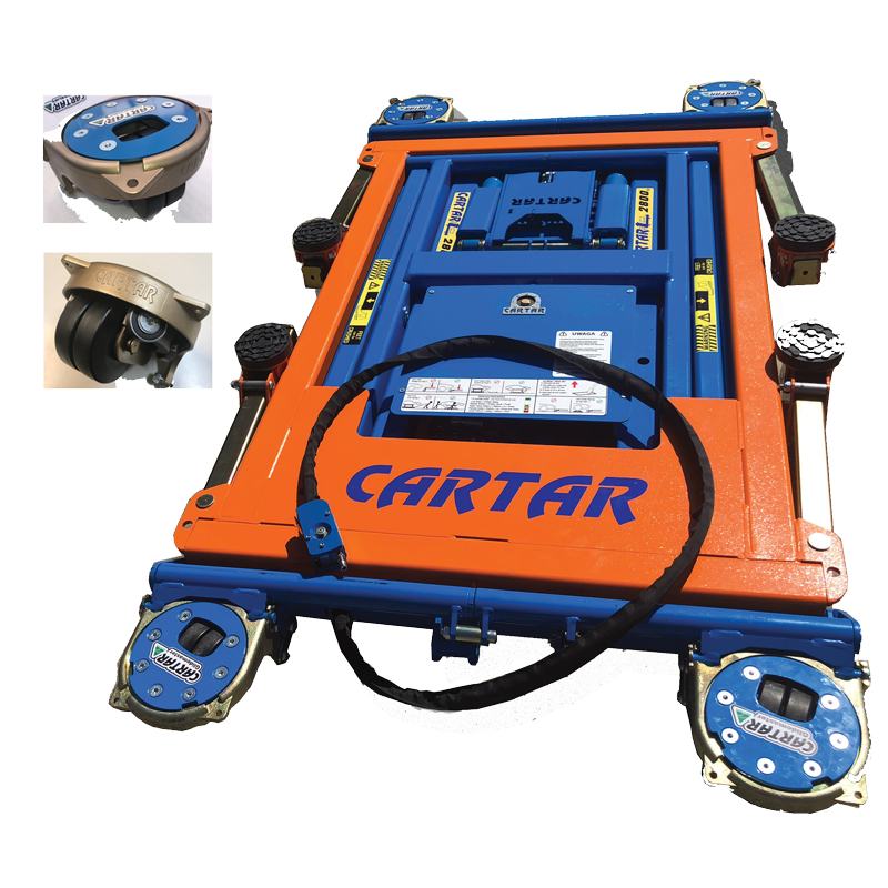 Innovation & quality from Cartar - the portable vehicle lifting solution!