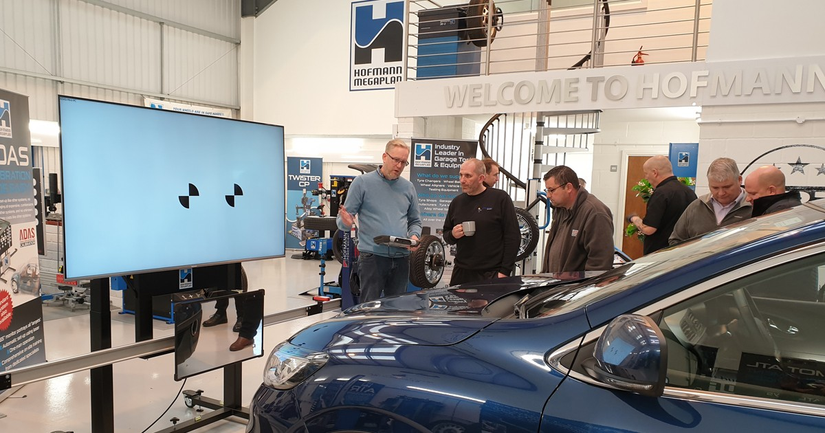 Hofmann Megaplan's ADAS educational Open Day this November saw new and existing clients attend to view the totally digital ADAS solution.
