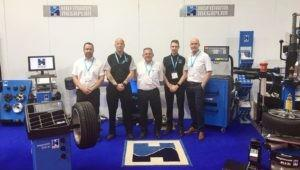 The Hofmann Megaplan team at Automechanika 2018
