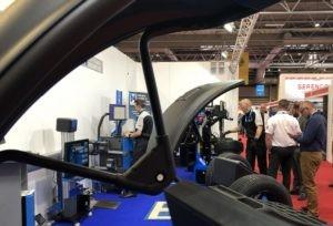 PULSE 8 AND MEGAMOUNT 813XL BOTH IN ACTION AT AUTOMECHANIKA 2018