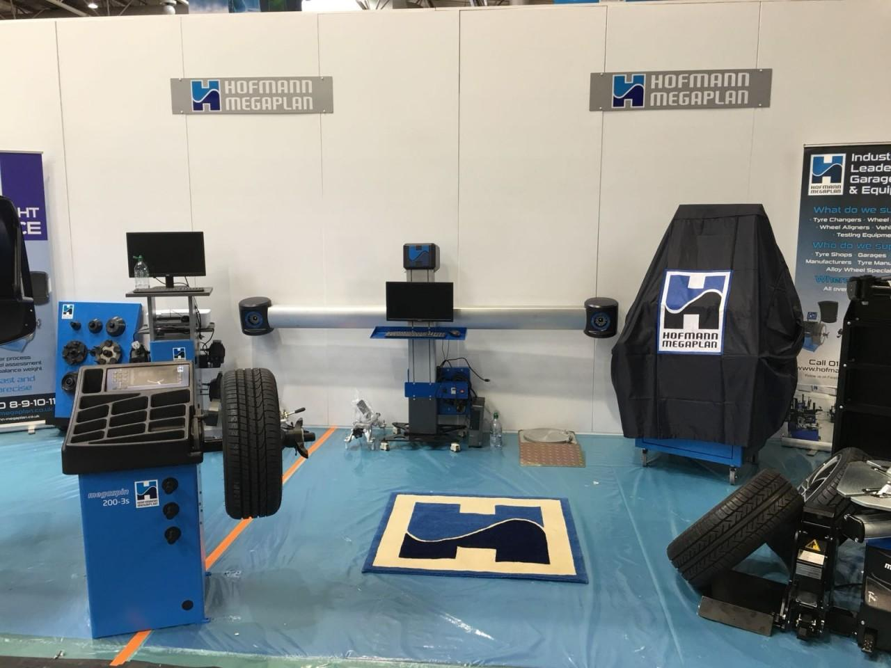 Hofmann Megaplan stand at Automechanika 2018