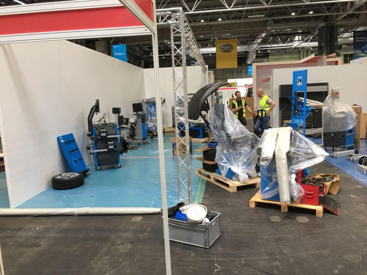 Getting all Tyre Fitting Equipment ready for Automechanika 2018