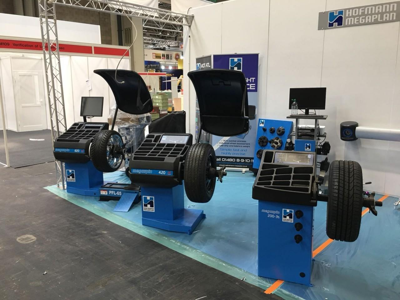 Wheel Balancers all ready for Automechanika 2018