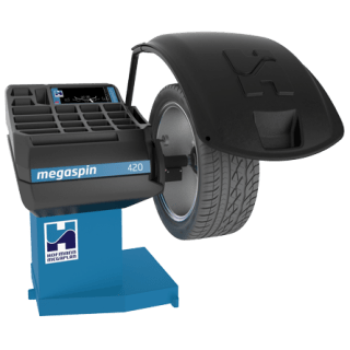 megaspin 420 wheel balancer