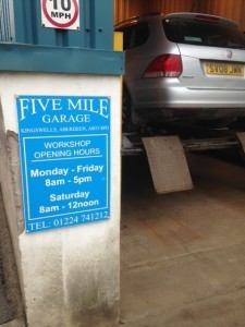 5 mile garage (Aberdeen)