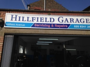 Small and beautiful in London - Hillfield garage (North London)