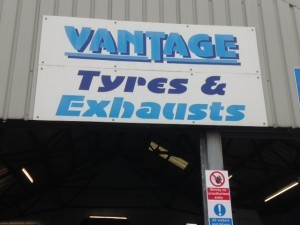Vantage tyres & exhausts..