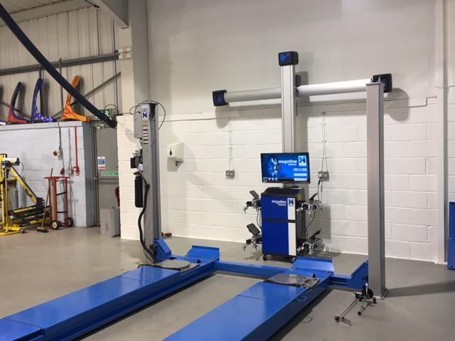 Alignment install with geolift