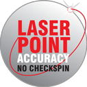 Laser point accuracy