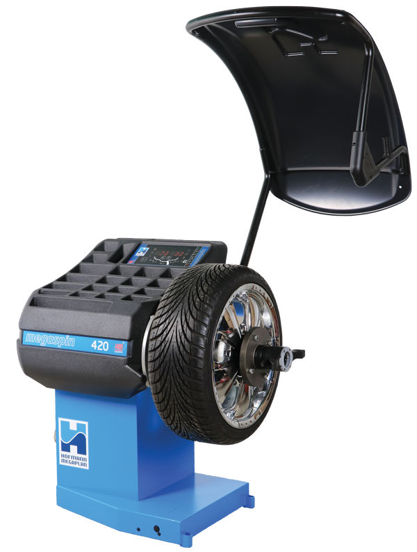 megaspin 420 Wheel Balancer from Hofmann Megaplan