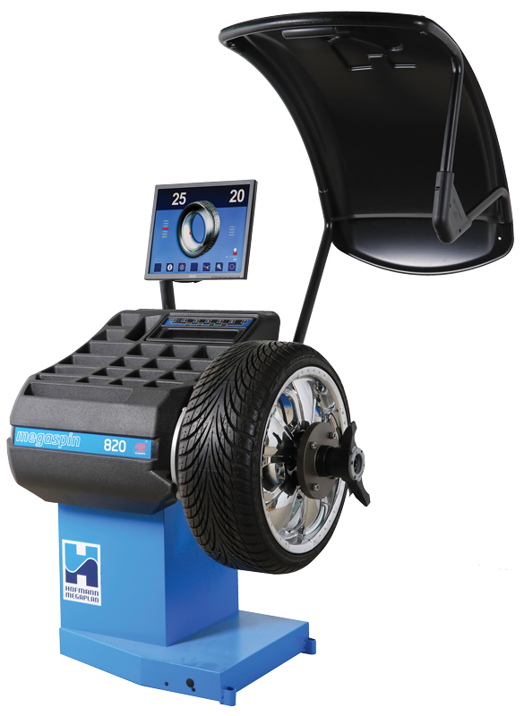 megaspin 820 Wheel Balancer from Hofmann Megaplan