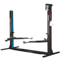 Discover the Cascos C4 Two Post Lift with the sleek Hofmann Megaplan blue design, combined with the traditional Cascos Vehicle Lift features.