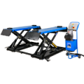 The Hofmann Megaplan TSX3000M is a mobile 3 tonne mid rise Scissor Lift that can be wheeled in and out of position as required.